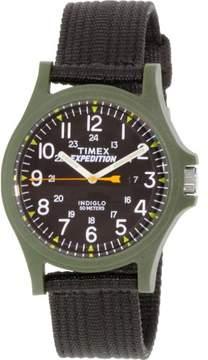 Timex Men's Expedition TW4999800 Black Cloth Analog Quartz Watch