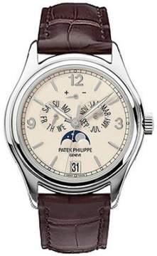Patek Philippe Annual Calendar 5146G-001 18K White Gold & Leather 39mm Watch