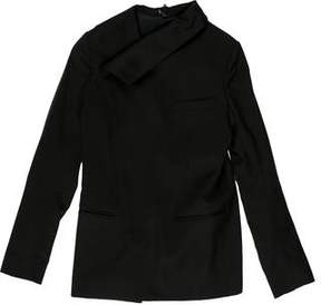Christian Dior Double-Breasted Wool Jacket