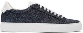 Givenchy Grey Glitter Urban Knots Sneakers