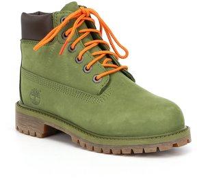 Timberland Boys' Green 6 Waterproof Boots