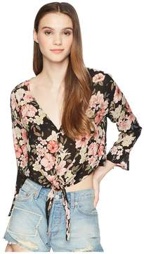 Billabong Girl Crush Woven Top Women's Clothing