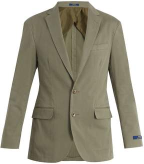 Polo Ralph Lauren Notch-lapel cotton-blend blazer