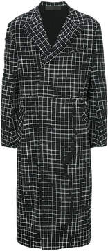 Haider Ackermann checked coat