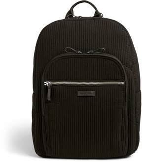 Vera Bradley Iconic Deluxe Campus Backpack - VERA VERA CLASSIC BLACK - STYLE