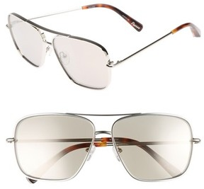 Elizabeth and James Women's Deacon 61Mm Aviator Sunglasses - Silver