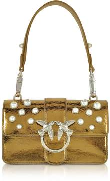 Pinko Mini Love Shiny Pearl 1 Shouder Bag