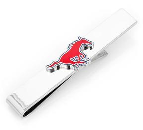 Ice SMU Mustangs Tie Bar