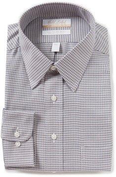 Roundtree & Yorke Gold Label Big & Tall Non-Iron Regular Full-Fit Point-Collar Dress Shirt