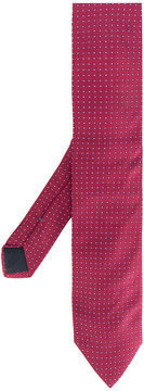 HUGO BOSS pattern embroidered tie