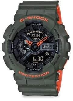 G-Shock Gravity Master Analog-Digital Strap Watch