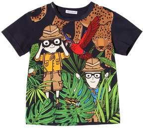 Dolce & Gabbana Savanna Cotton Jersey T-Shirt