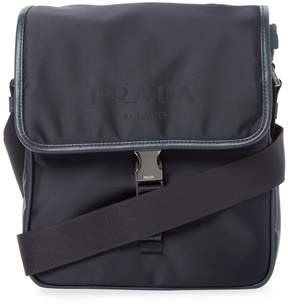 Prada Saffiano Leather Messenger Bag