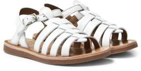 Pom D'Api Pom Dapi White Plagette Strap Softy Sandals