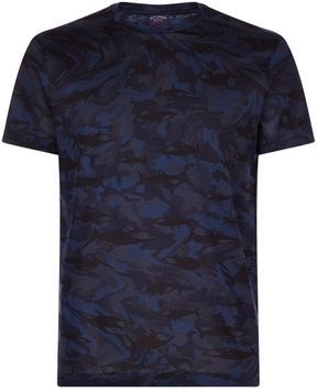 Paul & Shark Shark Camo Print T-Shirt