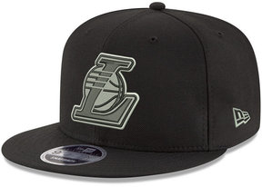 New Era Los Angeles Lakers Black on Shine 9FIFTY Snapback Cap