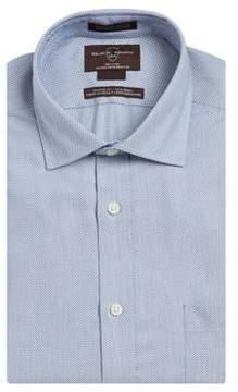 Black & Brown Black Brown Geo-Print Cotton Dress Shirt