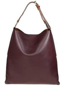 Golden Goose Deluxe Brand Women's Burgundy Leather Shoulder Bag.