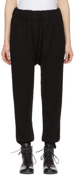 LAUREN MANOOGIAN Black Arch Lounge Pants