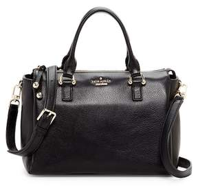 Kate Spade Bradie Leather Satchel Bag - BLACK - STYLE