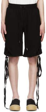 D.gnak By Kang.d Black String Shorts