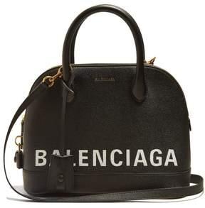 Balenciaga Ville Top Handle S Bag - Womens - Black White