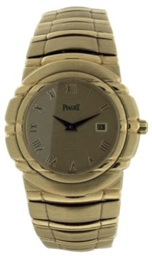 Piaget Tanagra with Date 18K Yellow Gold 34mm Men