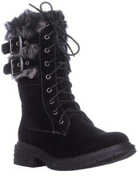 Wanted Pilsner Lace-up Booties, Black.
