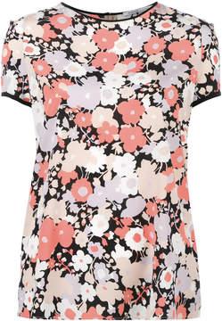 Agnona floral print T-shirt
