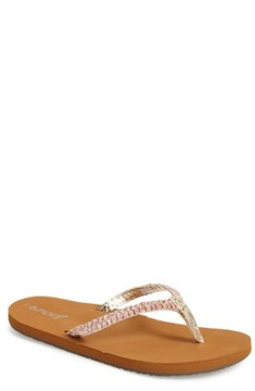 Reef Infant Girl's 'Little Twisted Stars' Sandal