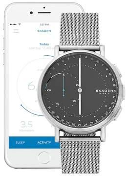 Skagen Men's Signature Connected Hybrid Mesh Smartwatch, 42mm