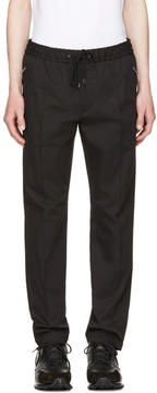 Dolce & Gabbana Black Tapered Trousers