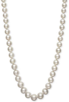 Belle de Mer Cultured Freshwater Pearl (7-1/2 to 11mm) Graduated Pearl Collar Necklace, Created for Macy's