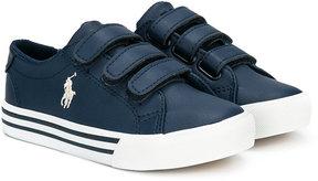Ralph Lauren touch fastening sneakers