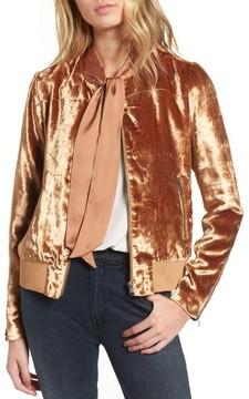 Chelsea28 Women's Velvet Jacket