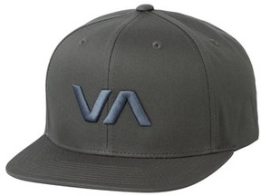 RVCA Men's 'Va' Snapback Hat - Blue