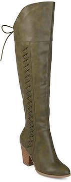 Journee Collection Women's Spritz Over The Knee Boot