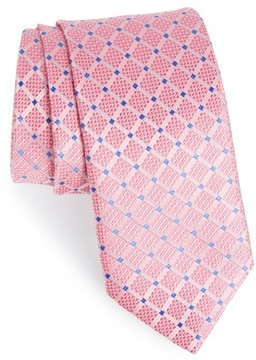 John W. Nordstrom Men's Grid Silk Tie