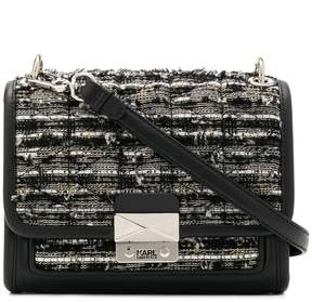 Karl Lagerfeld K/Kuilted Tweed small tote bag