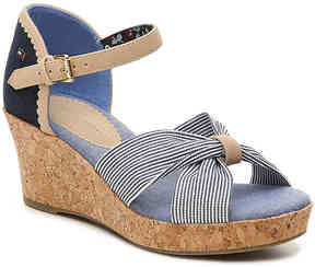 Tommy Hilfiger Girls Anastasia Toddler & Youth Wedge Sandal