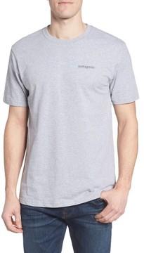 Patagonia Men's Line Regular Fit Logo T-Shirt