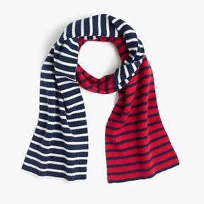 J.Crew Kids' multistriped scarf
