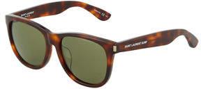 Saint Laurent Surf Plastic Square Sunglasses