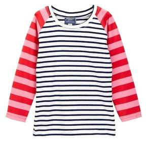 Toobydoo Miki Long Sleeve Striped Tee (Toddler, Little Girls, & Big Girls)