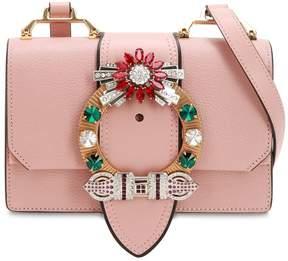 Miu Miu Lady Madras Leather Shoulder Bag