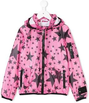 Diadora Junior star print jacket
