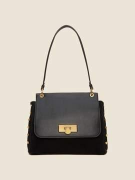 DKNY Baylee Leather Flap Satchel