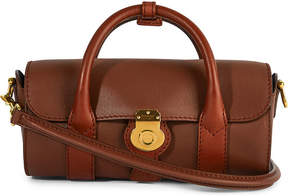 Burberry Trench leather small barrel bag - TAN - STYLE