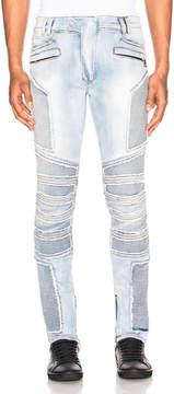 Balmain Ribbed Slim Jeans