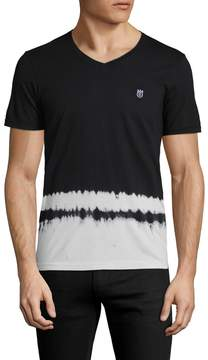 Cult of Individuality Men's Graphic V-Neck Tee